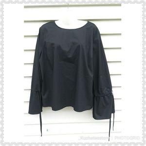 Worthington Black Bell Sleeve Top